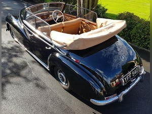 1953 MERCEDES BENZ 300 CABRIOLET 'ADENAUER' (RARE RHD EXAMPLE) For Sale (picture 5 of 12)