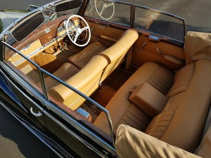 1953 MERCEDES BENZ 300 CABRIOLET 'ADENAUER' (RARE RHD EXAMPLE) For Sale (picture 6 of 12)