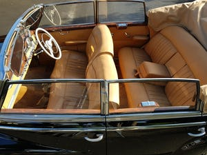 1953 MERCEDES BENZ 300 CABRIOLET 'ADENAUER' (RARE RHD EXAMPLE) For Sale (picture 9 of 12)