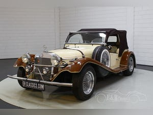 Mercedes-Benz SSK100 Replica on VW basis Good condition 1983 For Sale (picture 5 of 8)