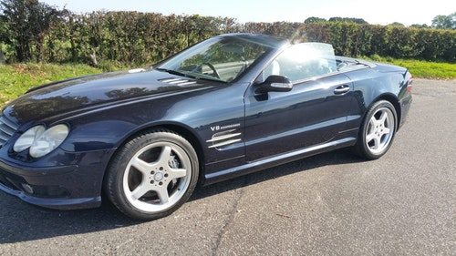 Picture of 2003 Mercedes SL55 AMG - FSH - 85000 miles For Sale by Auction