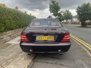2000 Mercedes s55 amg 5.4 v8 classic very rare car For Sale (picture 6 of 12)