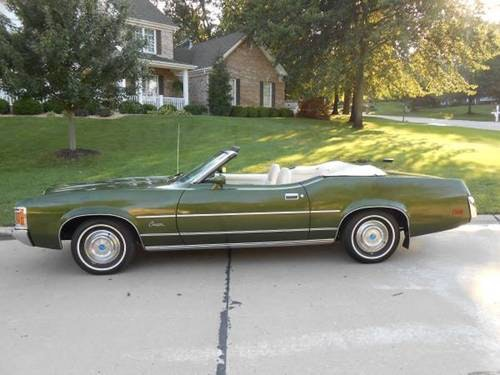 1972 Mercury Cougar Convertible For Sale (picture 1 of 6)
