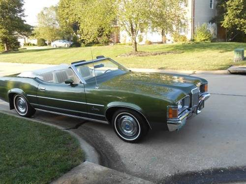1972 Mercury Cougar Convertible For Sale (picture 2 of 6)
