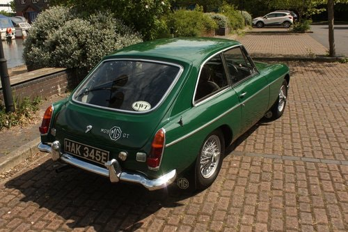 1967 MGB GT MK1 - One previous owner!  MGBGT MG BGT  SOLD (picture 1 of 6)