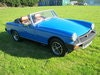 Picture of 1978 MG MIDGET 1500 IN PAGEANT BLUE. RESTORED AND NEW ENGINE SOLD