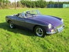 Picture of 1975 MGB ROADSTER IN RARE ACONITE PURPLE. O/DRIVE BOX. SOLD