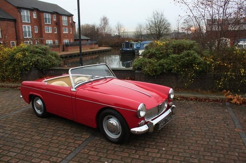 1963 MG Midget Mk1 - 1098cc - Tartan Red - Fully restored! SOLD (picture 1 of 6)