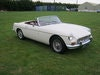 Picture of 1966 MGB ROADSTER. OLD ENGLISH WHITE WITH RED INTERIOR. SOLD