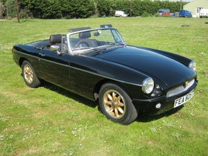 Picture of 1979 MGB 'ORCHARD SPECIAL' ROADSTER. BLACK 1868cc + HI LIFT  SOLD