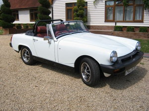 Picture of 1976 MG MIDGET 1500. GLACIER WHITE. FULLY RESTORED SUPERB SOLD