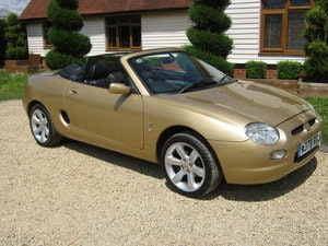 Picture of 2000 MGF. RARE COLOUR. 1800 VVC MODEL. ONLY 54,000 MILES SOLD