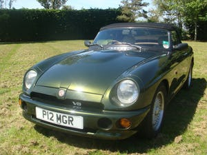 MG RV8 1995 Convertible incl Coach Trimmer fitted New Hood For Sale (picture 3 of 6)