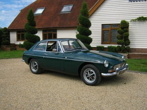 Picture of 1967 MGB GT. MARK 1. 1ST YEAR OF THE 'GT'.  SOLD