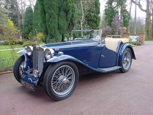 Picture of 1937 MG TA - Excellent restored example - Reserved SOLD