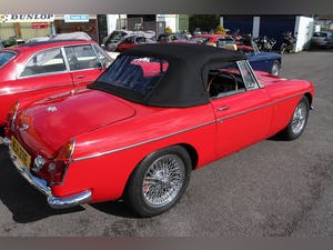 1969 MGB ROADSTER, 14 CHROME BUMPERS IN STOCK For Sale (picture 3 of 6)