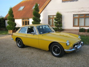 Picture of 1980 MGB GT IN INCA YELLOW. 1 OWNER AND ONLY 33,000 MILES SOLD