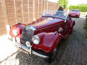 Picture of 1954 MG TF1250 LHD matching numbers