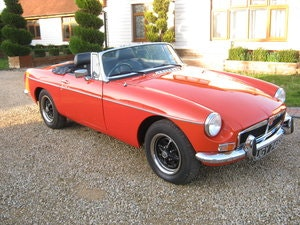 Picture of 1977 MGB ROADSTER IN BLAZE RED. MOT & TAX EXEMPT. SOLD