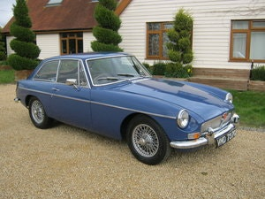 Picture of 1968 MGB GT. MINERAL BLUE WITH BLACK LEATHER INTERIOR. SOLD