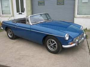 Picture of 1972 1973 MGB ROADSTER. TAX AND MOT EXEMPT. MINERAL BLUE. SOLD