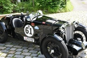 Picture of 1937 MG Q Type Special, strong race car! For Sale