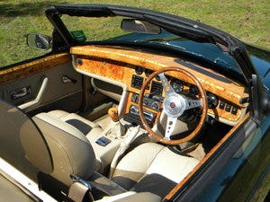 MG RV8 1995 Convertible incl Coach Trimmer fitted New Hood For Sale (picture 1 of 6)