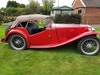 MG TC Red - SOLD