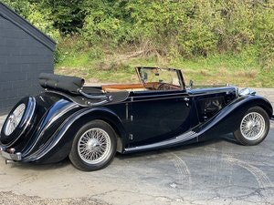 Picture of 1938 MG SA Tickford Drop Head Coupe RESERVED For Sale