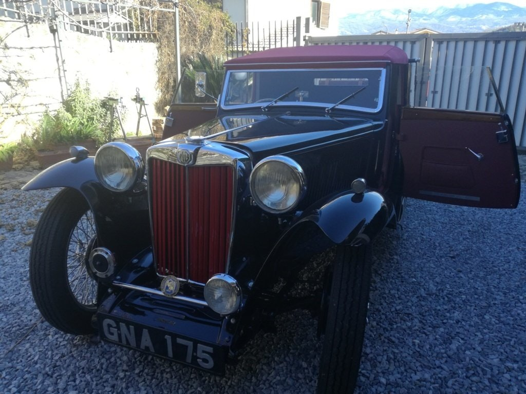 1939 MG TB Tickford  For Sale (picture 1 of 6)
