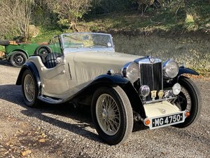 Picture of 1935 MG NB Magnette Cresta - coachwork by E-Bertelli SOLD