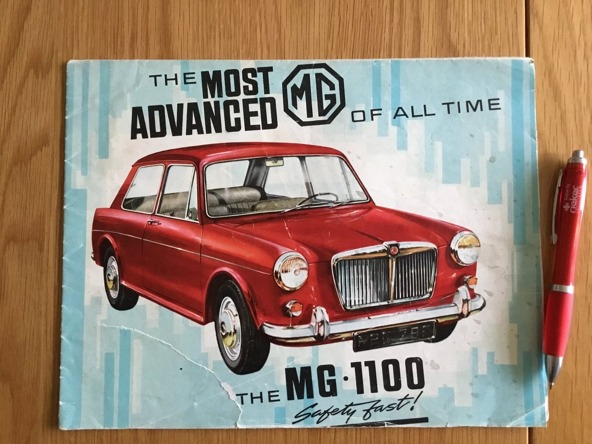 1965 MG 1100 brochure For Sale (picture 1 of 1)