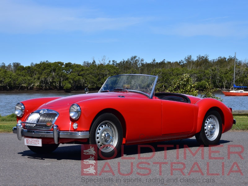 1958 MGA Twin Cam Roadster SOLD (picture 1 of 6)