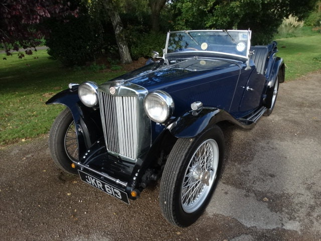 1954 MG TC SOLD (picture 2 of 6)