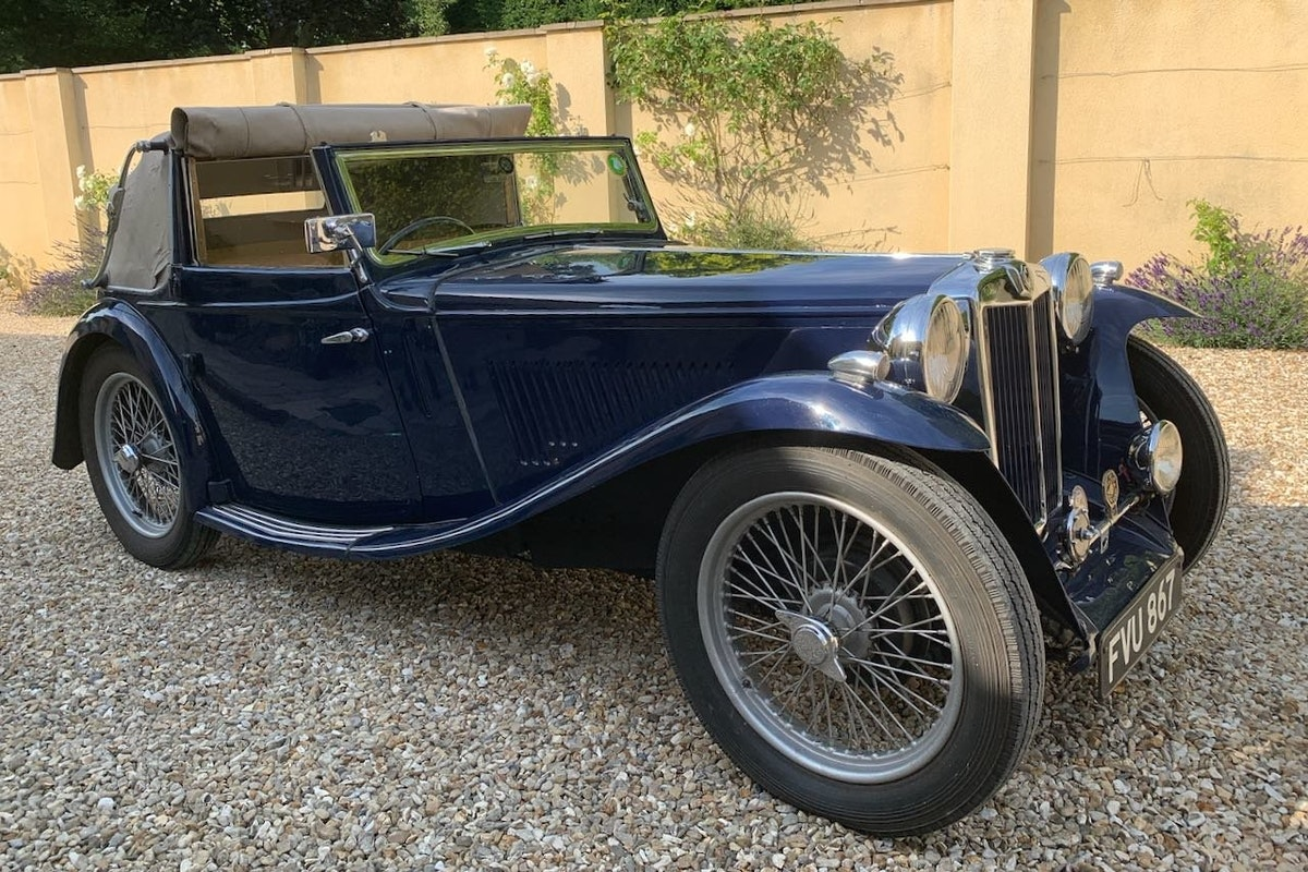 1939 MG TA Tickford Drophead Coupe For Sale (picture 1 of 6)