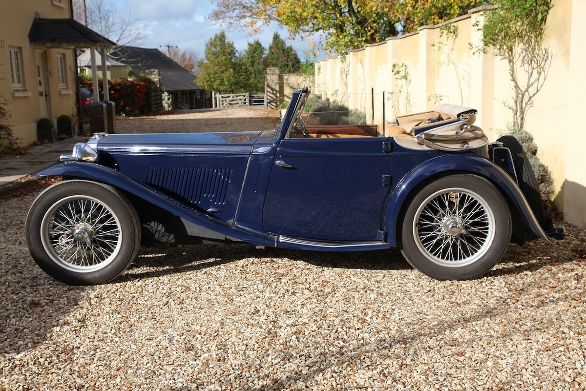 1939 MG TA Tickford Drophead Coupe For Sale (picture 2 of 6)