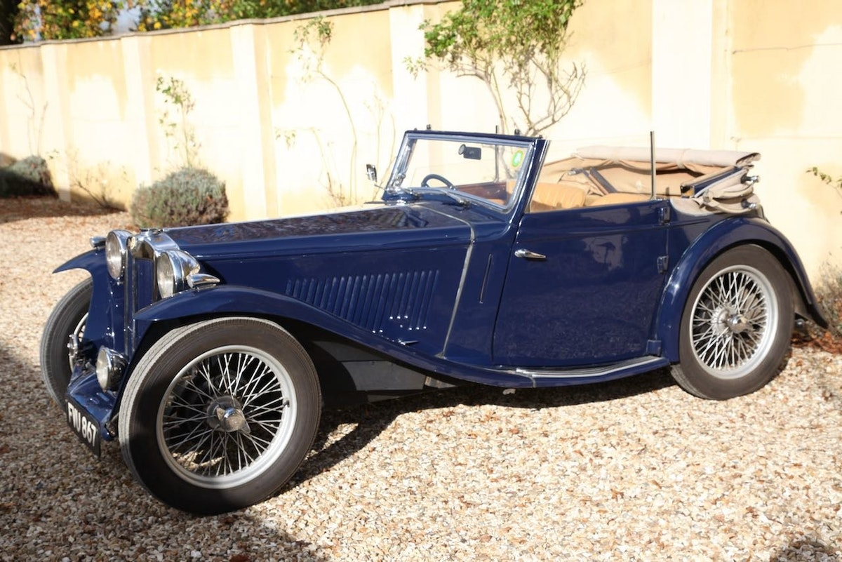 1939 MG TA Tickford Drophead Coupe For Sale (picture 3 of 6)