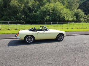 1978 MGB Roadster Chrome bumper LHD - Best in Europe For Sale (picture 1 of 12)