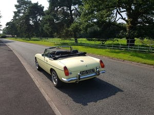 1978 MGB Roadster Chrome bumper LHD - Best in Europe For Sale (picture 3 of 12)