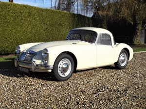 1956 MGA Coupe. Excellent example, matching numbers. For Sale (picture 1 of 27)