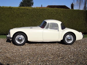1956 MGA Coupe. Excellent example, matching numbers. For Sale (picture 4 of 27)