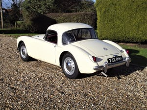 1956 MGA Coupe. Excellent example, matching numbers. For Sale (picture 6 of 27)