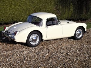 1956 MGA Coupe. Excellent example, matching numbers. For Sale (picture 7 of 27)