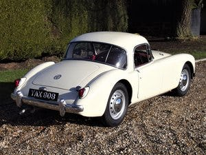 1956 MGA Coupe. Excellent example, matching numbers. For Sale (picture 8 of 27)