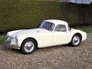 1956 MGA Coupe. Excellent example, matching numbers. For Sale (picture 9 of 27)