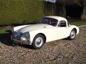 1956 MGA Coupe. Excellent example, matching numbers. For Sale (picture 10 of 27)