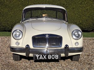 1956 MGA Coupe. Excellent example, matching numbers. For Sale (picture 11 of 27)