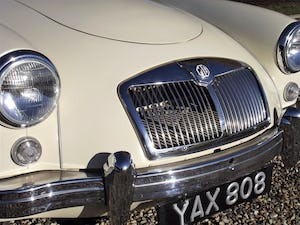 1956 MGA Coupe. Excellent example, matching numbers. For Sale (picture 21 of 27)