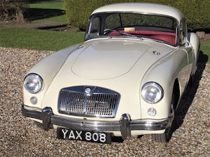 1956 MGA Coupe. Excellent example, matching numbers. For Sale (picture 26 of 27)