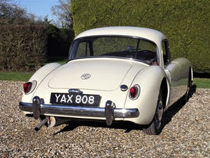 1956 MGA Coupe. Excellent example, matching numbers. For Sale (picture 27 of 27)
